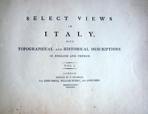 Smith Selected Views of Italy