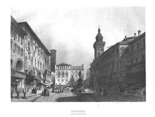 Meyer Bologna Der Riesenplatz 1862/3