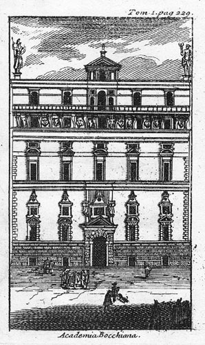 De Rogissart 1707 Academia Bocchiana