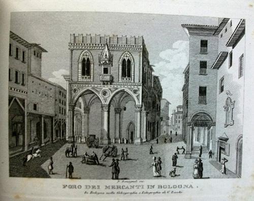 Giovanni Zecchi ca 1833-40, Foro dei Mercanti