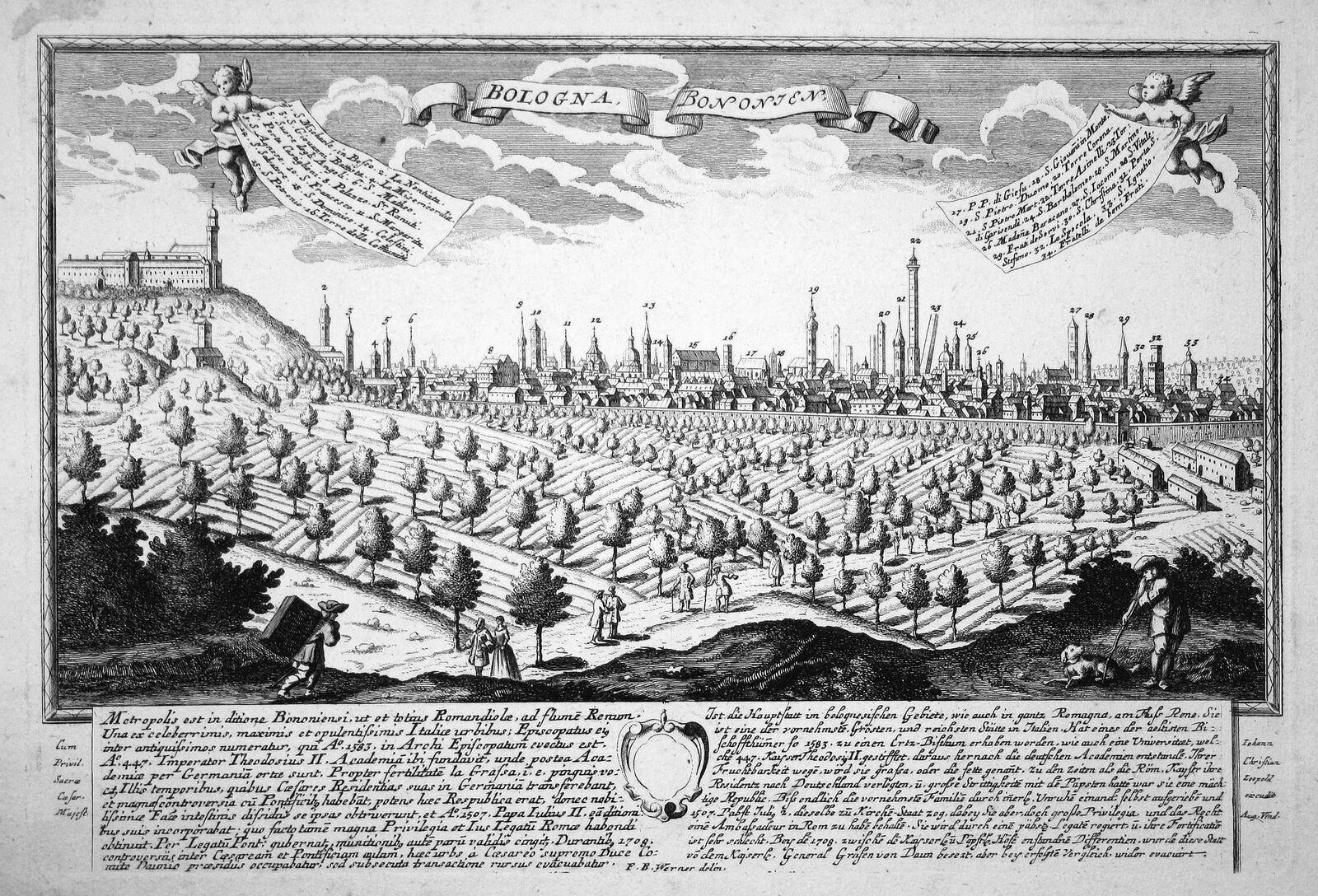 Leopold Werner ca 1740