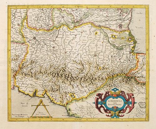 Mercator Hondius 1606