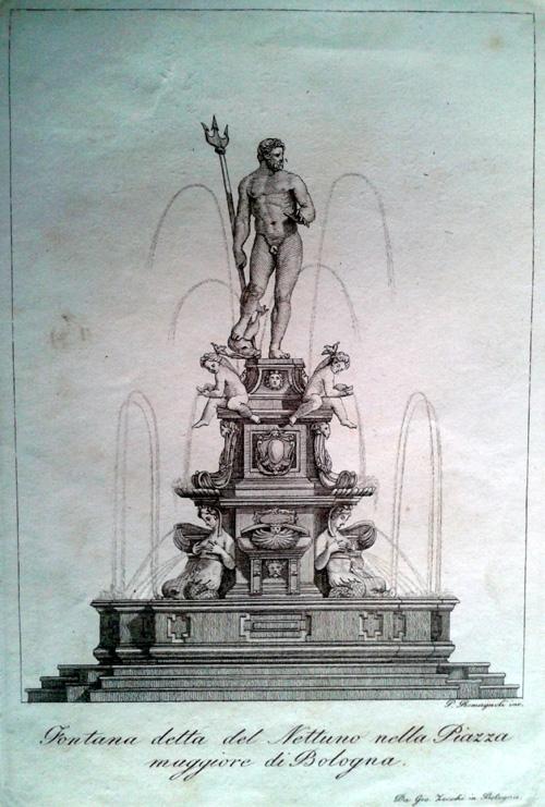 Giovanni Zecchi ca 1833-40, Fontana del Nettuno
