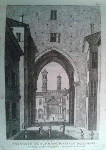 Giovanni Zecchi ca 1833-40, Voltone di San Francesco