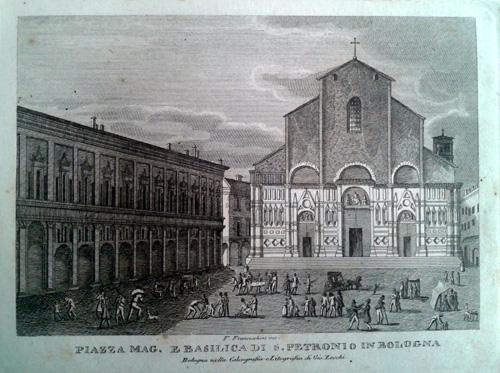 Giovanni Zecchi ca 1833-40, San Petronio