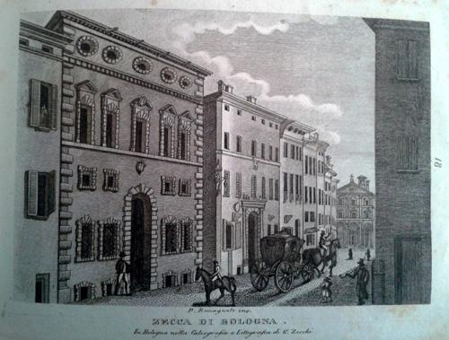 Giovanni Zecchi ca 1833-40, Zecca di Bologna