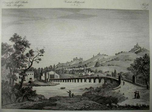 Zuccagno-Orlandini 1845 Ponte sul Reno