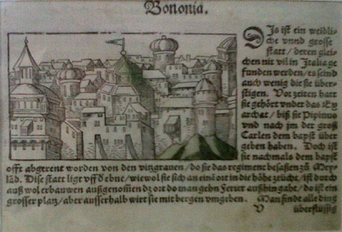Münster, ca 1550