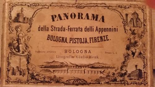 Panorama Strada Ferrata Appennini 1864