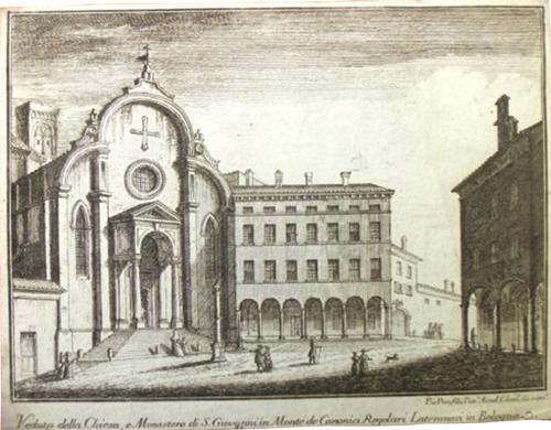 Pio Panfili San Giovanni in Monte 1792