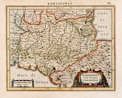 Mercator Hondius 1628